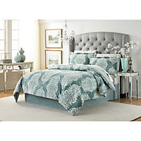 Lenox Velvet Plush 3-Piece Comforter Set (Assorted Colors and Sizes)