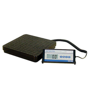 Detecto Digital Portable Scale - 400 lb. Capacity