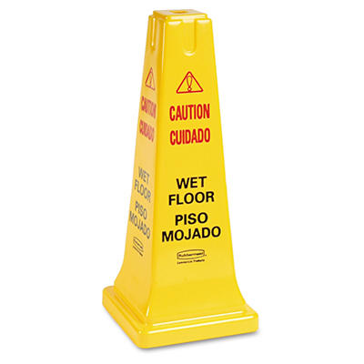Rubbermaid Wet Floor Safety Cone