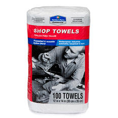 Member's Mark Commercial Shop Towels - Red or White