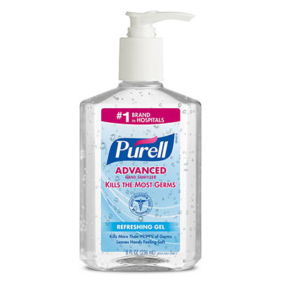 Purell Instant Hand Sanitizer - 8 oz -12 ct.