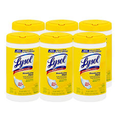 Lysol Disinfecting Wipes - Lemon & Lime Blossom Scent - 6 pk. - 80 ct. each