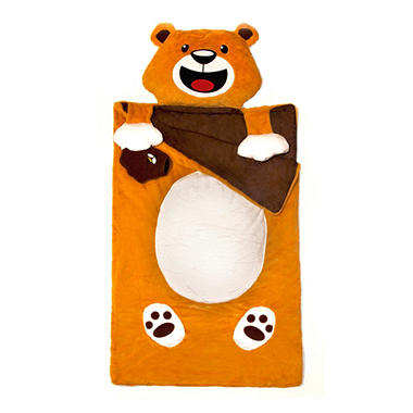 Kid's 3D Sleeping Bag - Bear