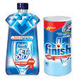 Finish Powerball Tabs and Jet Dry Rinse Agent Bundle