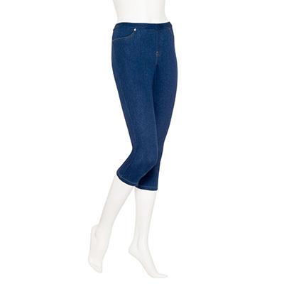 June & Daisy Capri Denim Leggings (Assorted Colors)