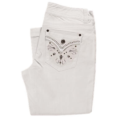 Bling Capri - White