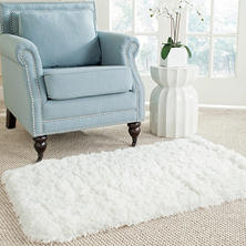 "Bliss Shag Rug (26"" x 44"") - Various Colors"