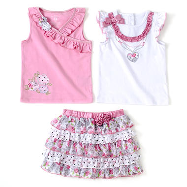 Kids Headquarters 3 pc. Set - Pink
