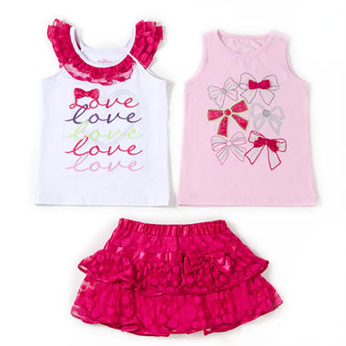 Kids Headquarters 3 pc. Set - Love