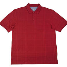 Haggar Knit Short Sleeve Polo Shirt (Assorted Colors)