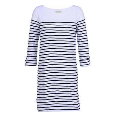Ladies Stripe Dress - Various Colors