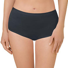Ellen Tracy Essentials 4-Pack Seamless Brief (Assorted Colors)