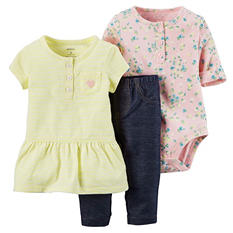 Carter's Bodysuit & Pant 3-Piece Set