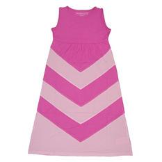 Girl's Chevron Maxi Dress (Assorted Colors)