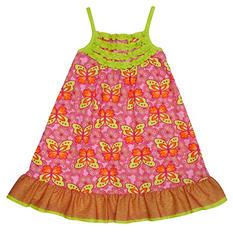 Girl's Butterfly Spring Dress
