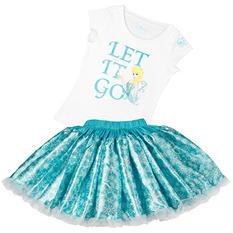 Disney Collection by Tutu Couture Frozen Elsa 2-Piece Set