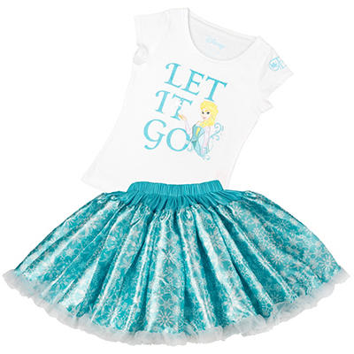 Disney Collection by Tutu Couture Frozen Elsa 2-Piece Set