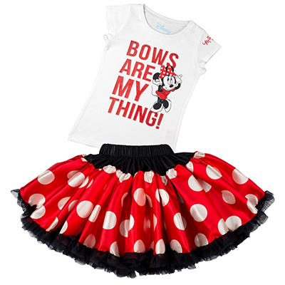 Disney Collection by Tutu Couture Minnie Mouse 2-Piece Set