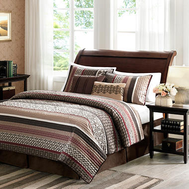 Princeton Quilted Jacquard Coverlet Set - 5 pc. - King