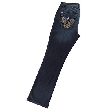 Bling Bootcut Jean - Various Colors