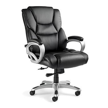 Samsonite - Hamburg Big & Tall Office Chair - Black