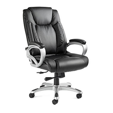 Samsonite - San Mateo Big & Tall Office Chair - Black