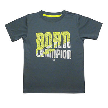 Champion Boy's Graphic Tee - Grey