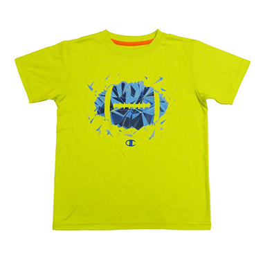 Champion Boy's Graphic Tee - Lime