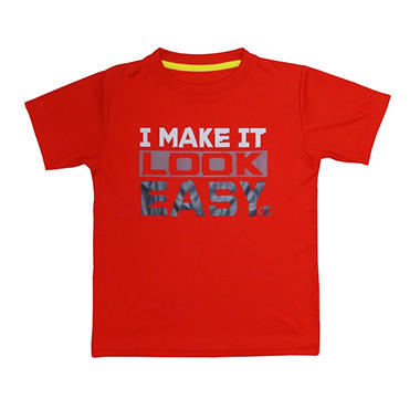 Champion Boy's Graphic Tee - Red