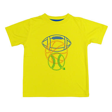 BYS TEE YELLOW 7/8 IN-CLUB# 76682
