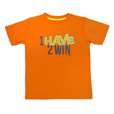 Champion Boy's Graphic Tee - Orange