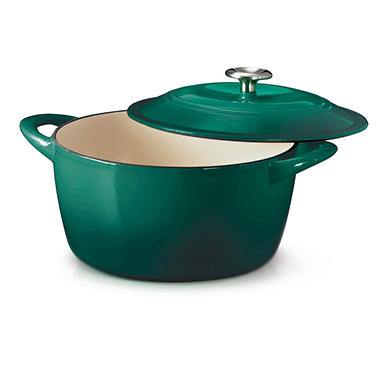 Tramontina Cast Iron 6.5 Qt. Round Covered Dutch Oven - Various Colors