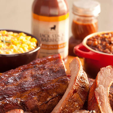 Jack Stack Barbecue's Signature Baby Back Ribs Meal