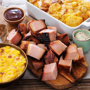 Jack Stack Ham Burnt Ends Meal