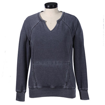 Green Tea Mineral Wash Pullover (Assorted Colors)