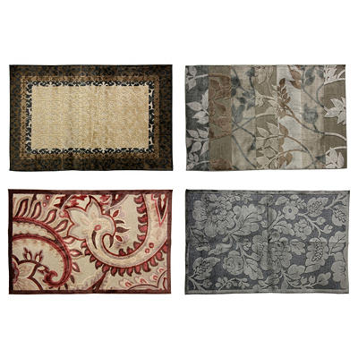 Royal Court Viscose Rugs (various patterns)