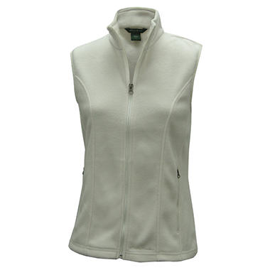Fitted Fleece Vest -  Various Colors