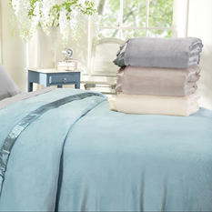 Ultra Plush Soft Blanket - Various Sizes and Colors