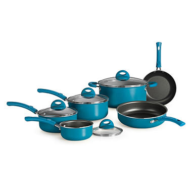 Simple Cooking 10 Pc. Cookware Set - Various Colors