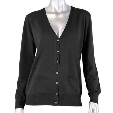 Long Sleeve Button Down Cardigan - Various Colors