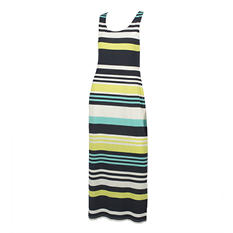Sleeveless Striped Maxi Dress (Assorted Colors)
