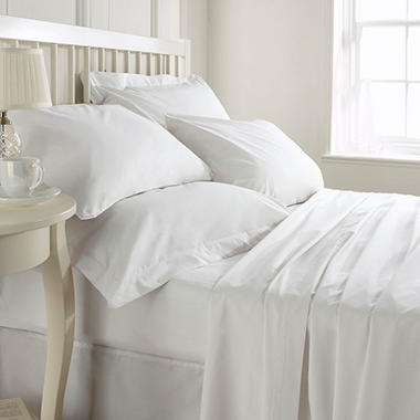 Dependability 180TC Hotel Sheets - Fitted - Twin - 24 pk.