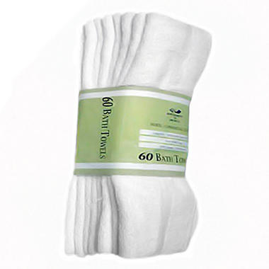 Hotel Bath Towels - 60 pk.