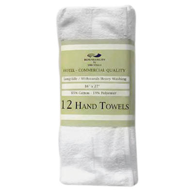 Hotel Hand Towels - 120 pk.