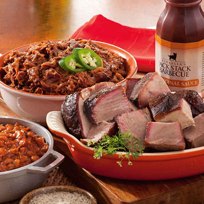 Jack Stack BBQ Kansas City Sampler (Serves 10 to 12)