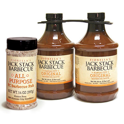 Jack Stack Original Sauce & All-Purpose Rub Economy Pack