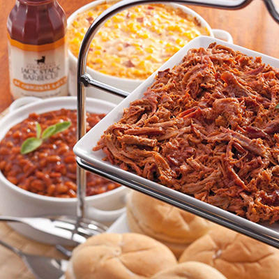 Jack Stack BBQ Pulled Chicken Meal (Serves 10 to 12)