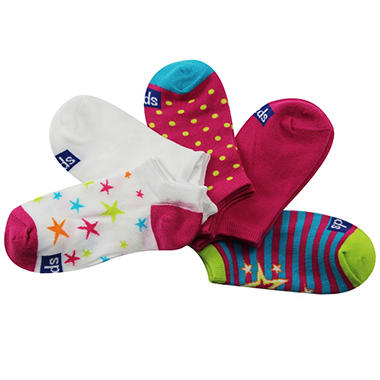 Keds 5 Pair + 1 Bonus Pack Socks - Stars