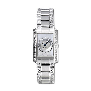 Concord Women's Delirium 18K White Gold Case and Bracelet Diamond Quartz Watch