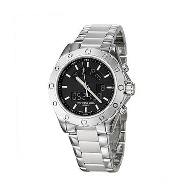 raymond weil s rw sport stainless steel and